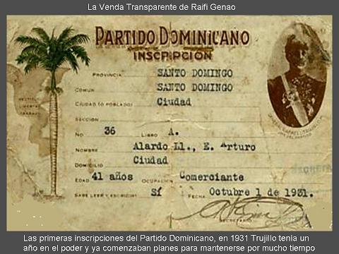 inscripcion partido dominicano de 1931 111