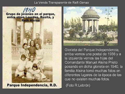 Parque Independencia 1940 glorieta 111