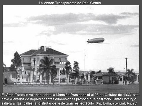 zeppelin sobre mansion presidencial 111